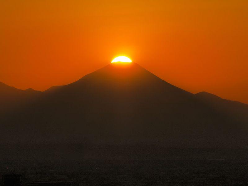 海抜251mからの絶景!平成最後のダイヤモンド富士を眺めよう