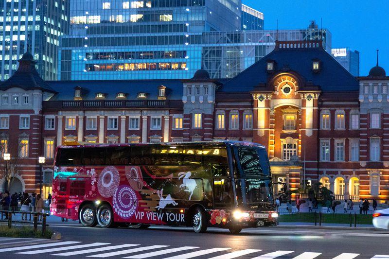 東京の名所をぐるっと一回り!2階建てオープントップバスが運行開始