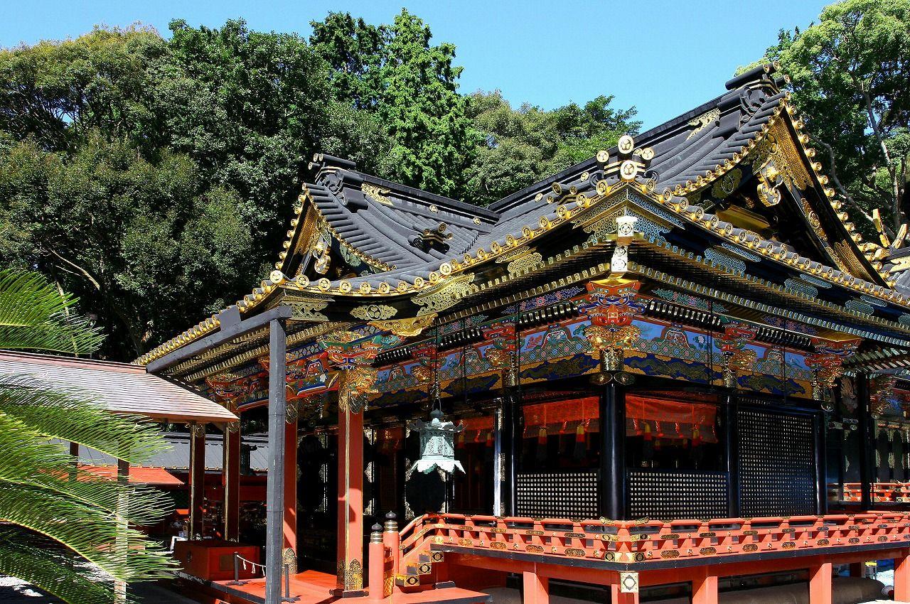 徳川家康公を祀る「久能山東照宮」