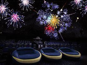 今年はプラネタリウムで花火を見よう!「花火ウェルカムドーム」