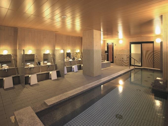 京都駅前最大級の広さ!大浴場でリフレッシュ