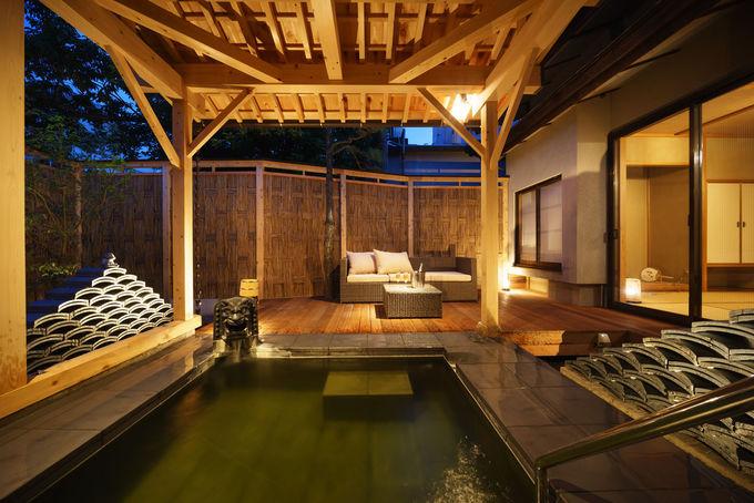 日本庭園が美しい…風情のある客室で温泉三昧