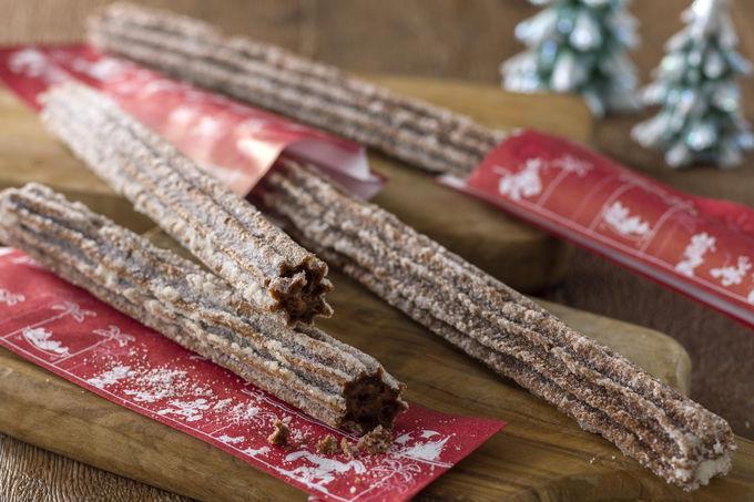 チョコレートチュロスは必食!期間限定のクリスマスフード