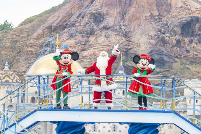 東京ディズニーシーのクリスマスデコレーション