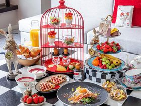 ヒルトン東京でスイーツビュッフェ&アリスの朝食!お得なプランを販売中