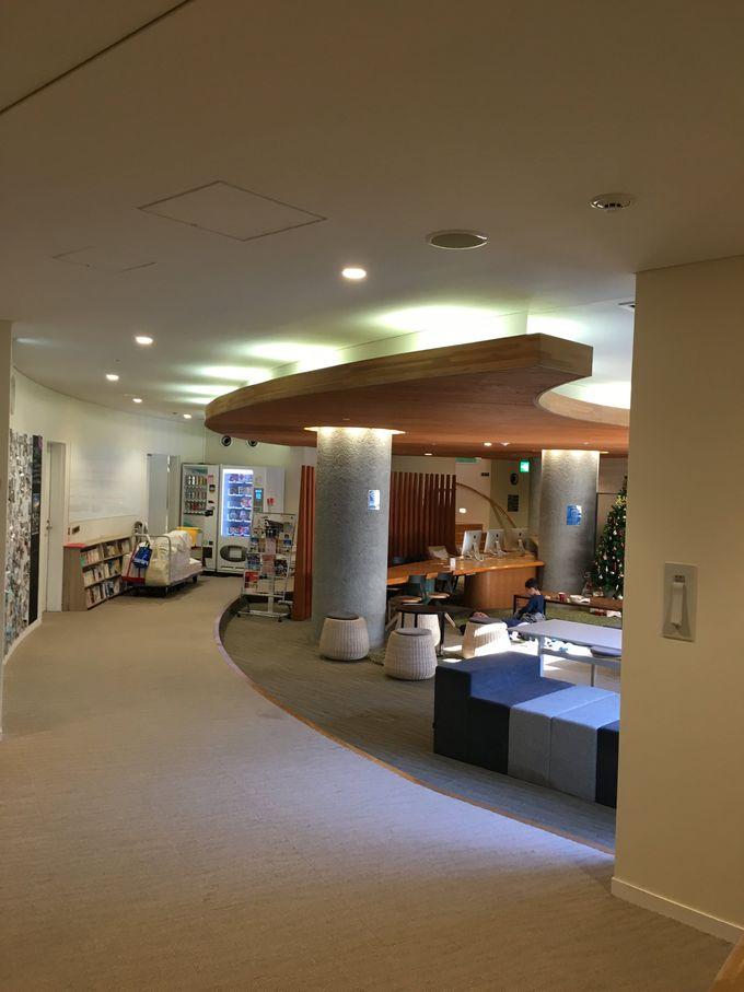 機能的な設備と併設のヨガスタジオが魅力的