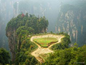こんなところに空中田園!奇峰の仙境・武陵源の知られざる絶景スポット