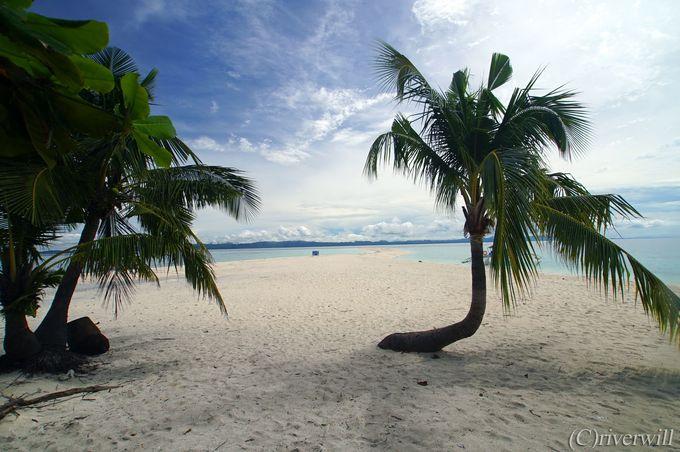 復活!カランガマン島の奇跡のホワイトサンドバー