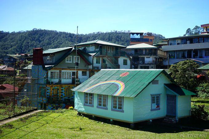 標高1500mの山間に浮かぶ小さな村「サガダ」