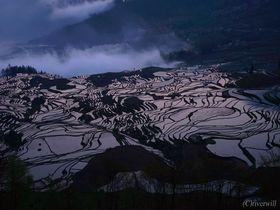 光が織りなす大地の彫刻!雲南省・元陽棚田は異次元並みの超絶景