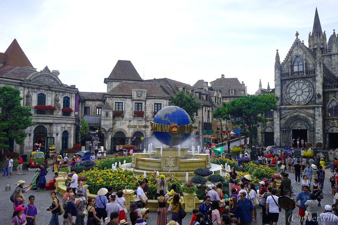ここホントにベトナム?中世フランスの町並み広がるワンダーランド