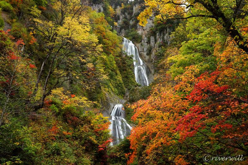 復活!北海道天人峡の名瀑「羽衣の滝」はやっぱり美しかった