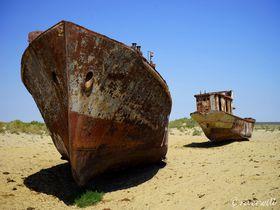 砂漠に「船の墓場」!ウズベキスタンで見る20世紀最大の環境破壊