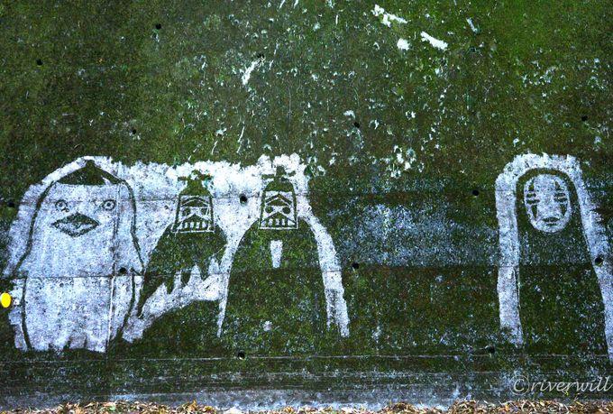 定峰峠ジブリ苔アートの傑作集