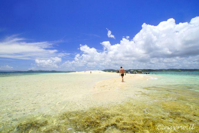 2島目:小さなホワイトサンドバー・ネイキッド・アイランド