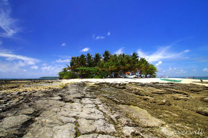 1島目:小さな小さな無人島・グヤム島