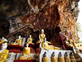 ベールを脱いだミャンマーの秘境パアン!洞窟寺院の聖地を行く