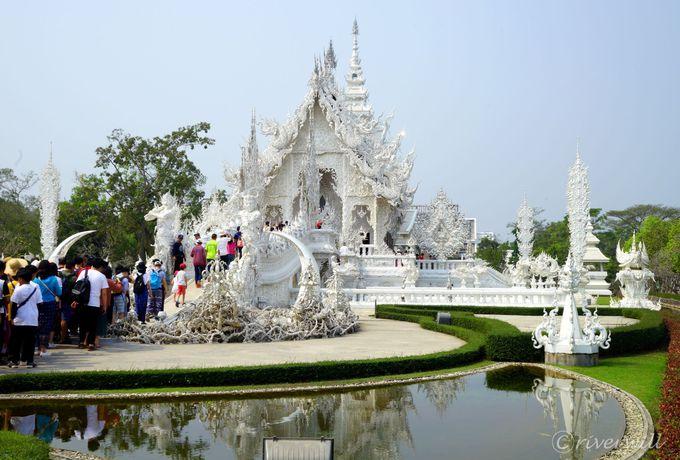 タイ最北のまち・チェンライはユニークなお寺がいっぱい