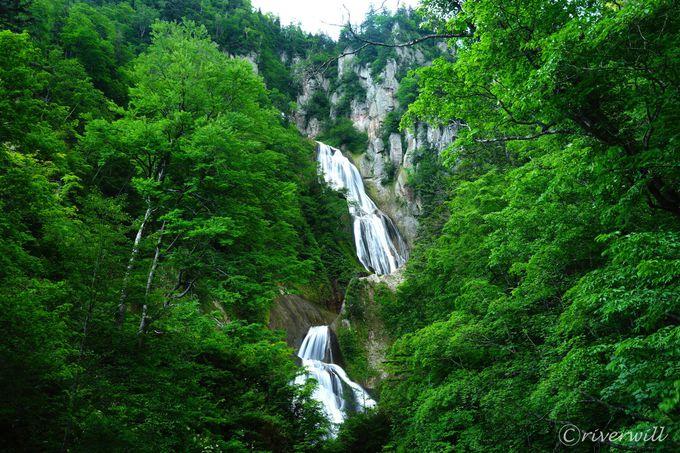 ちょっと足を伸ばして天人峡温泉や羽衣の滝はいかが?