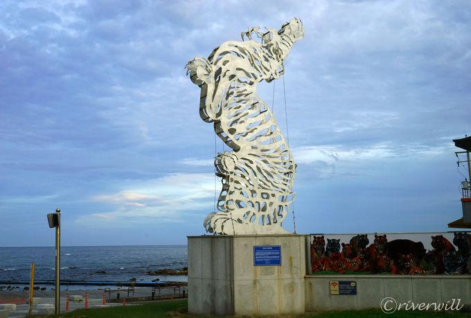 韓国東海岸にある浦項、その最東端にある虎尾串とは