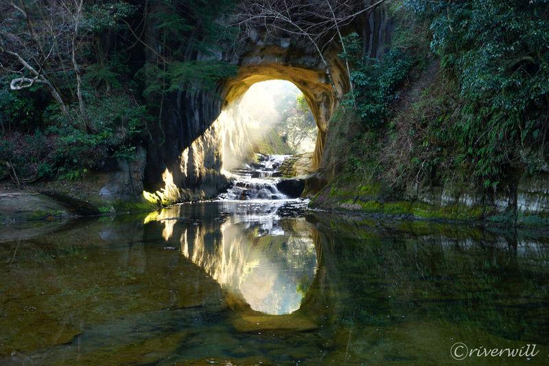 千葉・濃溝の滝に幸せのハート降臨!聖なる光で福寿を授かろう