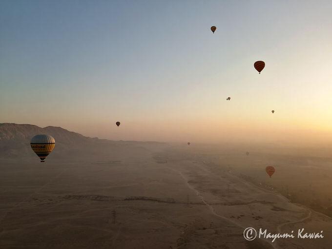 5.気球ツアー(ルクソール)