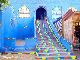 エジプトに青の村!心ときめくカラフルポップなヌビア村