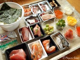 乗っけ放題海鮮丼!「おさしみ天国・小田原海鮮ゴーゴー!!」