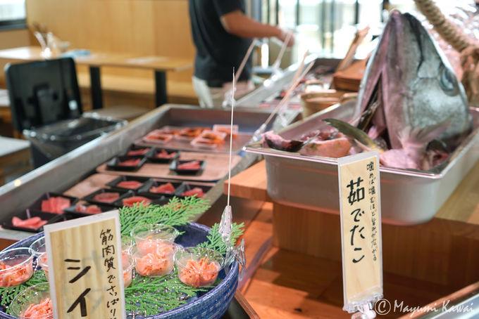 いざ、乗っけ放題海鮮丼に挑戦!