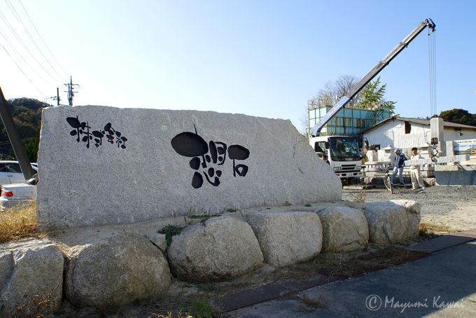 日本最大級の稲田みかげ石の採石場「石切山脈」