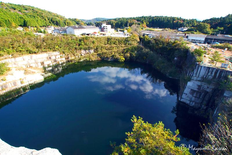 """""""地図にない湖""""に古代要塞!?茨城の新絶景「石切山脈」"""