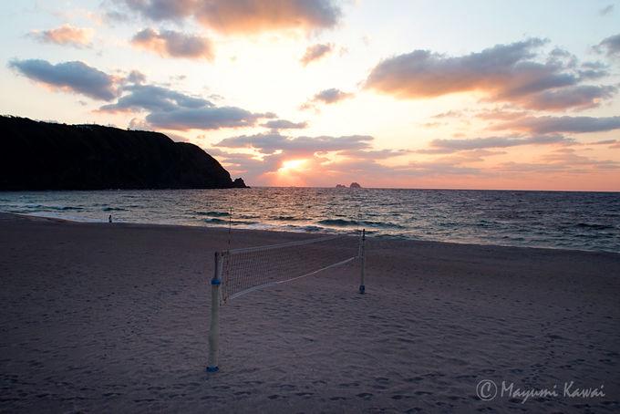 星降る夜の前に、明るいうちは島の魅力を満喫しよう