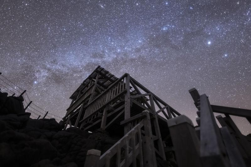 東京の星降る島「神津島」星空保護区で満天プラネタリウム
