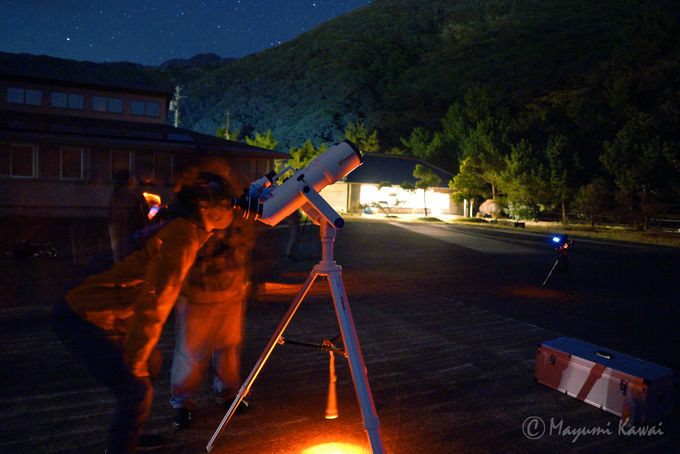 星座が分かればより楽しい!島民ガイドによる星空観察会