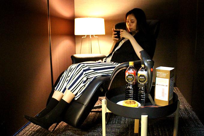 コーヒーを飲み分けて、良質な眠りとくつろぎのひとときを