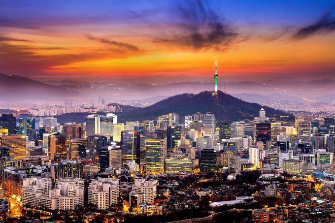 韓国のベストシーズンに販売される航空券は高い?安い?