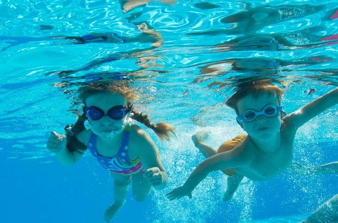 【プール】思いっきり水遊びを楽しむ夏!