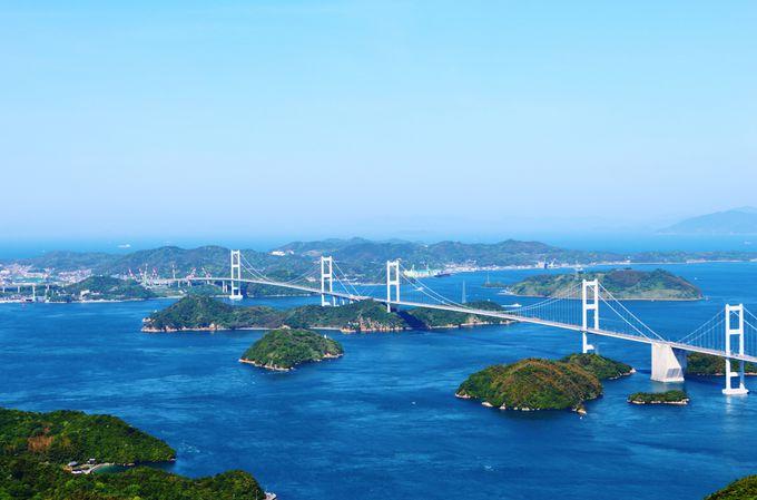 しまなみ海道観光を組み込むなら?