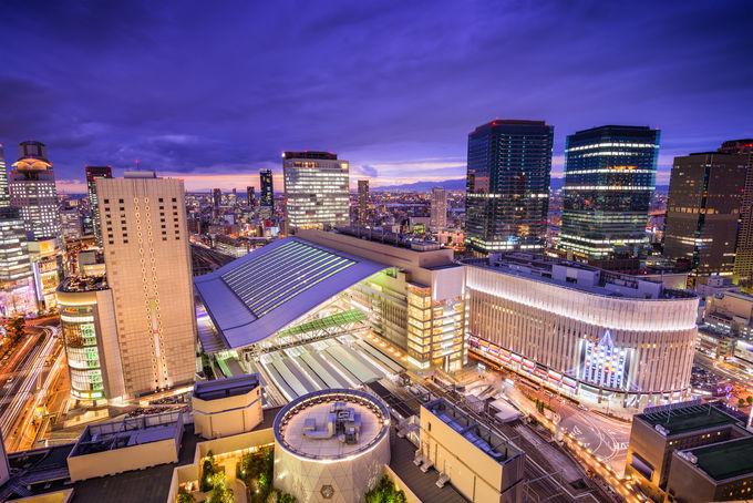 大阪へのアクセス、現地での主な交通手段は?