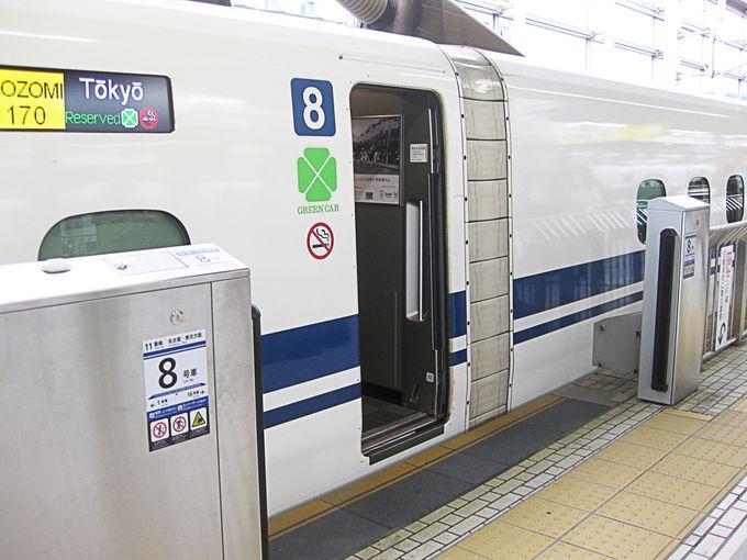 新幹線特急券の料金はどう違う?