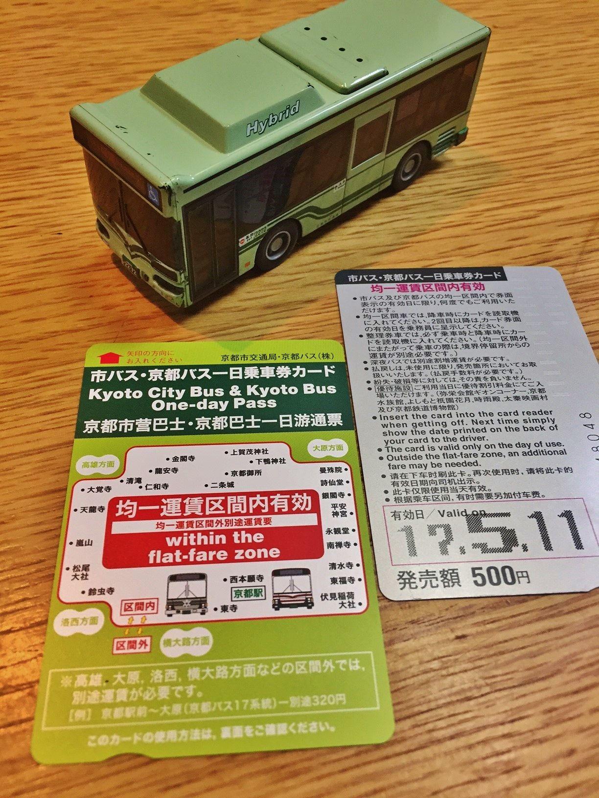 バス派が選ぶ「1日乗車券」の存在