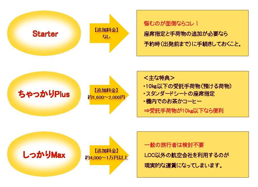 ポイントその1。運賃の体系は3種類。有料オプションはどうする?