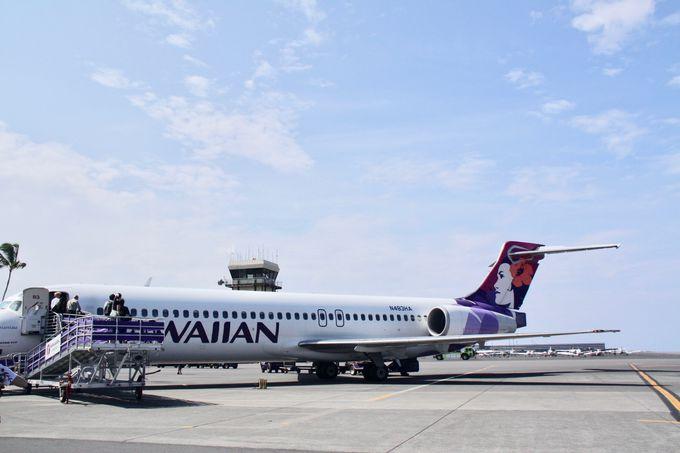 ハワイ旅行の必需品!(飛行機編)