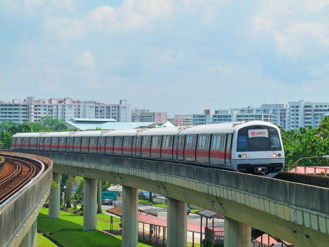 シンガポールの交通機関は鉄道・バス・タクシー