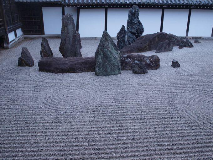 想像は無限大、日本庭園の見立て