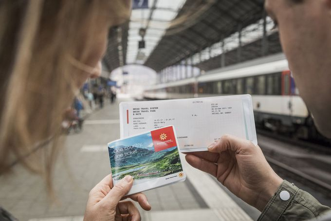 鉄道を利用する日だけ使える「スイストラベルパスフレックス」