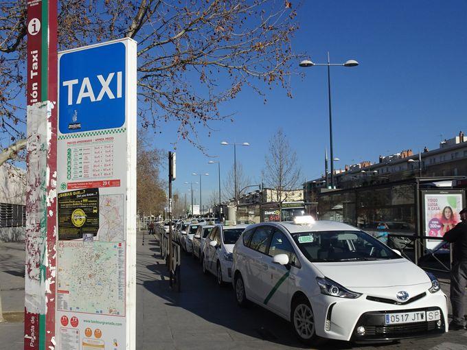日本に比べると料金が安い!タクシー(TAXI)