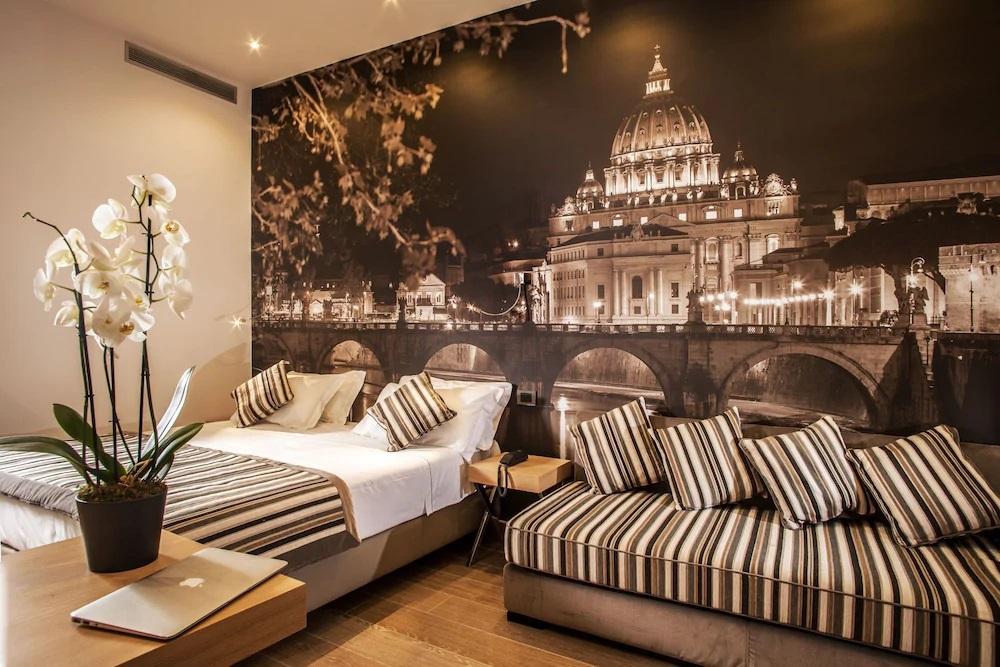 ローマの宿泊施設の特徴