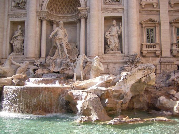 ローマの主要観光エリアは?