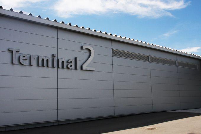 Peachは第2ターミナルビルから国内・国際線ともに出発